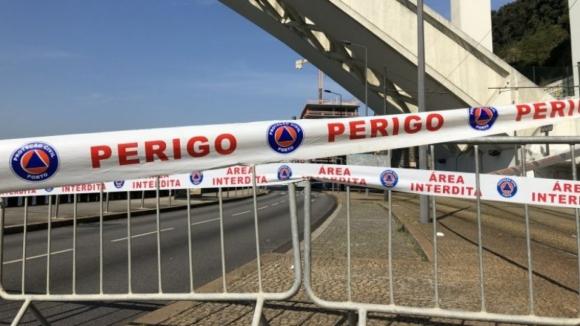 Remoção do betão destacado na Ponte da Arrábida começa hoje às 22:00