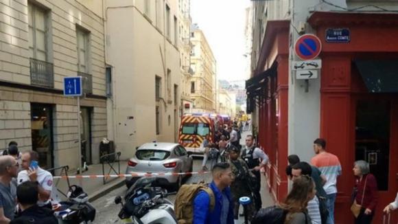 Explosão em rua pedonal de Lyon, leste de França, faz sete feridos