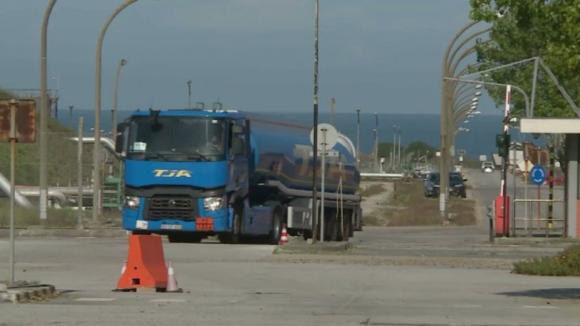 Greve dos motoristas está a causar prejuízos de dezenas de milhares de euros por dia para empresas