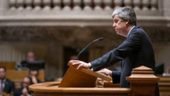 """Mário Centeno garante margem para aumentos salariais e ataca """"devaneios"""" do Bloco"""