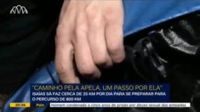 """""""Caminho pela APELA, um passo por ELA"""": a viagem de Isaías Sá"""