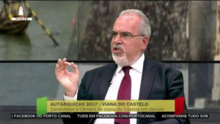 """José Maria Costa indica os números do """"avanço"""" no saneamento em Viana do Castelo e afirma que quer mais"""