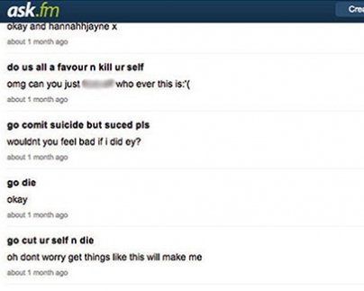 Mensagens no Ask.fm podem ter levado adolescente inglesa ao suicídio